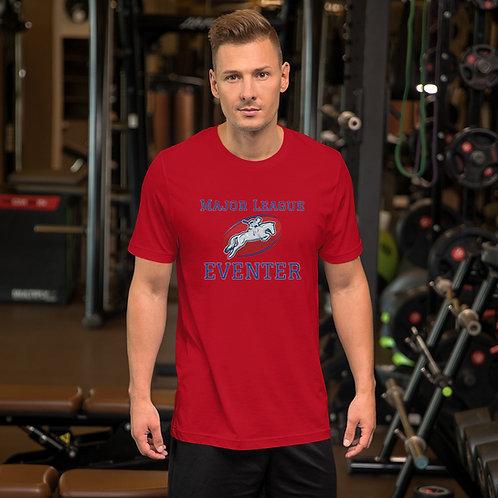 Major League Eventer Blue /Red Print Short-Sleeve Unisex T-Shirt