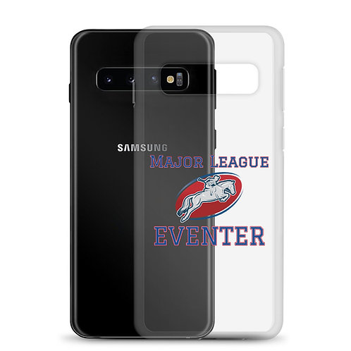 """Major League Eventer"" Samsung  Clear Case"