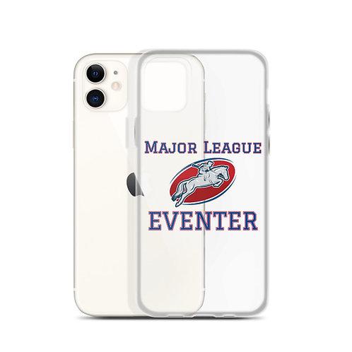"""Major League Eventer""  iPhone Clear Case"