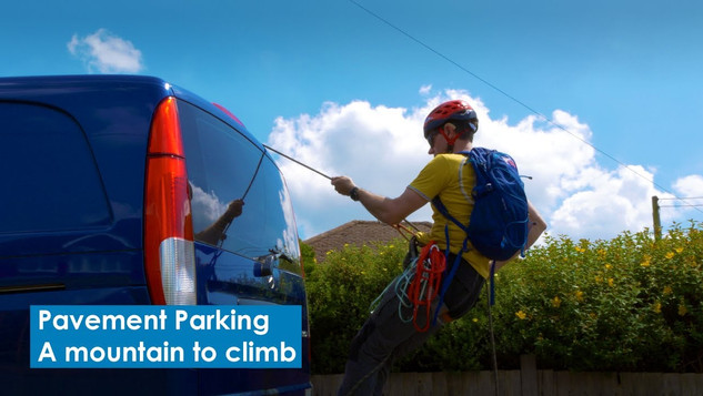 Pavement Parking | A mountain to climb