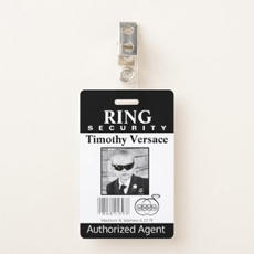 Fun Ring Bearer Badge $5.70