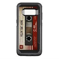 retro cassette samsung case