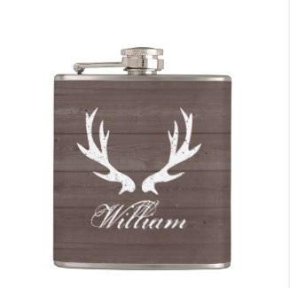 Deer Antlers Flask $26.05