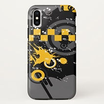 abstract urban art grafitti iphone case