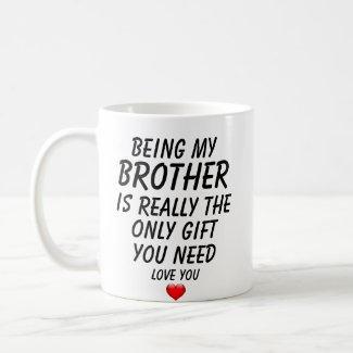 Funny Brother Mug $14.95