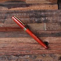 personalised engraved redwood pen
