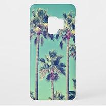 vintage palm tree photo samsung case