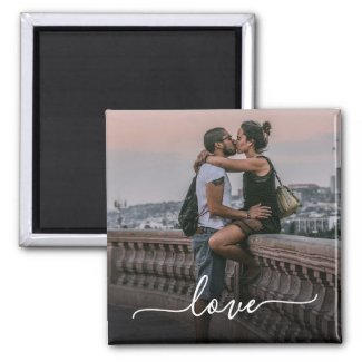 Love Photo Magnet $4.25