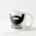 funny respect the beard mens mug