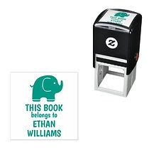 Book Belongs to Kids Stamp