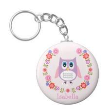 Cute Owl Keychain $3.95