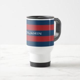 Striped Travel Mug $27.15