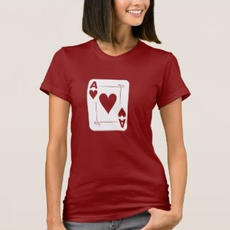 Ace of Hearts T-Shirt $31.65