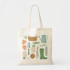Garden Icon Tote Bag $10.75