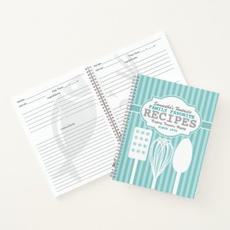 Recipe Notebook $18.95