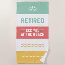 Retired Beach Towel $50.18