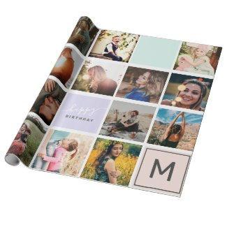 Photo Collage Wrap $22.15