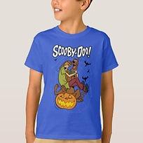 kids halloween scooby doo shirt