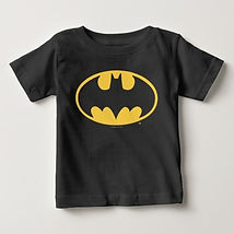 dc batman symbol baby shirt