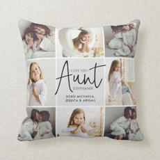 Aunt Photo Cushion $31.20
