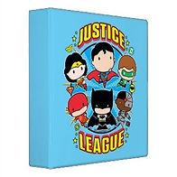 chibi justice league characters kids binder