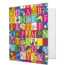 Dr. Seuss Ring Binder $25.45