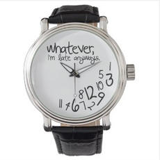 Funny Leather Watch $49.40