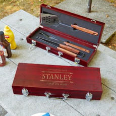 Engraved BBQ Set $59.95