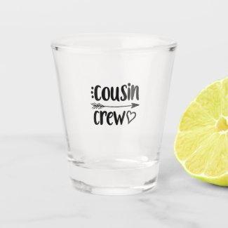 Cousin Crew Glass $15.60