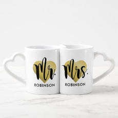 Mr & Mrs Mug Set $21.10