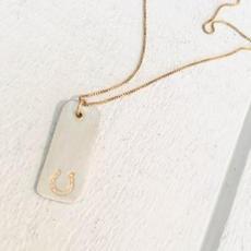 Horseshoe Necklace $47