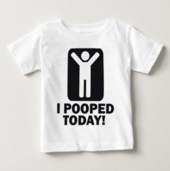 Funny Pooped T-Shirt $13.70