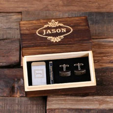Custom Cufflinks Set $34.99