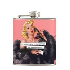 Funny Retro Flask $27.95