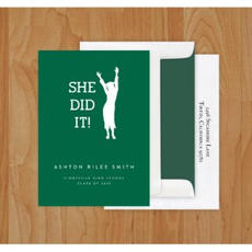 She Did It! Cards $41.95