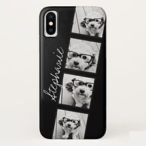 classic custom photo strip iphone case