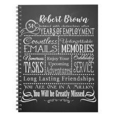 Retirement Notebook $14.15