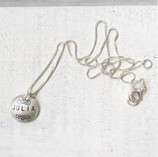 Name Disc Necklace &41
