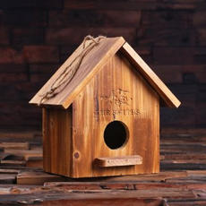Engraved Bird House $59.99