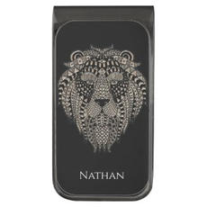 Lion Head Money Clip $26.35