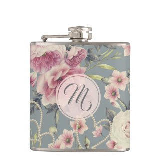 Pretty Floral Flask $26.35