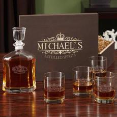 Whiskey Gift Box Set $149.95