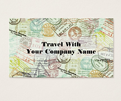 Travel Tour Company Business Cards