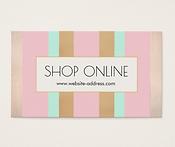 Shop Online Business Cards