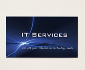 IT Services Business Cards