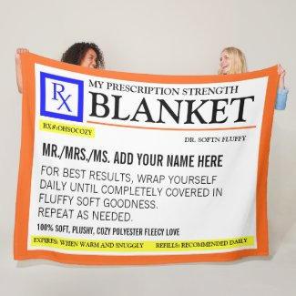 Prescription Blanket $84.40