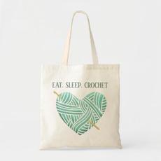 Crochet Tote Bag $10.50