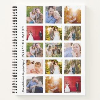 15 Photo Notebook $17.90