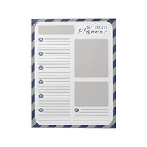 project planner notepad