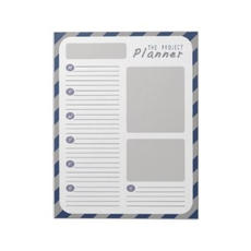 Project Planner Notepad $14